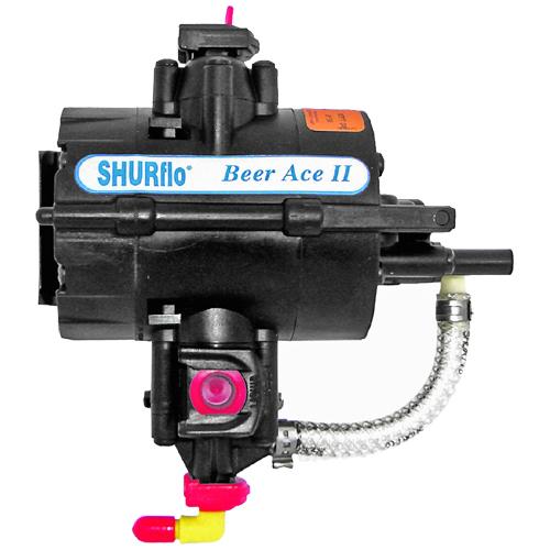 shurflo beer ace ii mit einer f rderleistung von 3 bis 10 liter pro minute. Black Bedroom Furniture Sets. Home Design Ideas