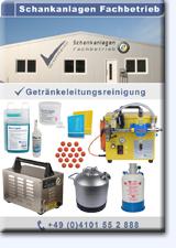 PDF-Katalog Getränkeschankanlagenreinigung