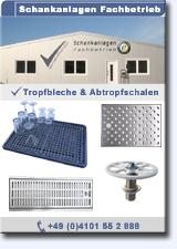 PDF-Katalog Tropfbleche und Abtropfwannen
